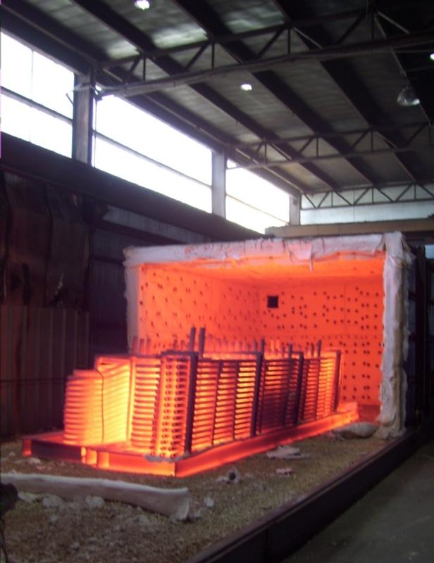10 Million BTU Burner for Custom Designed Heat Treating ...