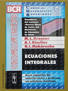 jarban02_pic091: Ecuaciones integrales de M.L. Krasnov, A.I. Kiseliov y G.I. Makárenko