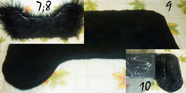 полуваленки - пимы, фото процесса, МК