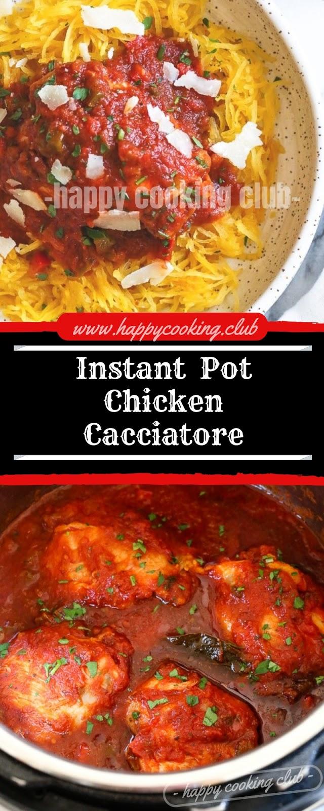 Instant  Pot Chicken Cacciatore