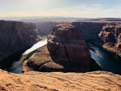 Page Arizona and Horseshoe Bend.