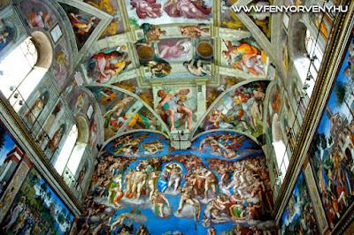 Michelangelo kód - A Sixtus-kápolna rejtett üzenetei