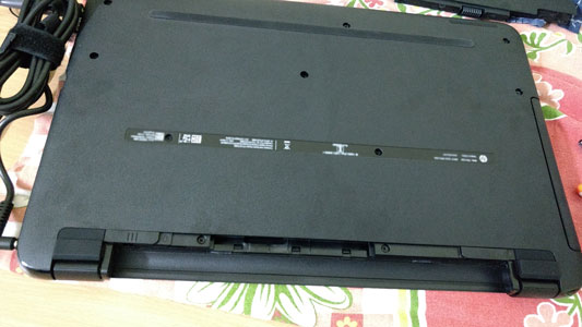Laptop without battery