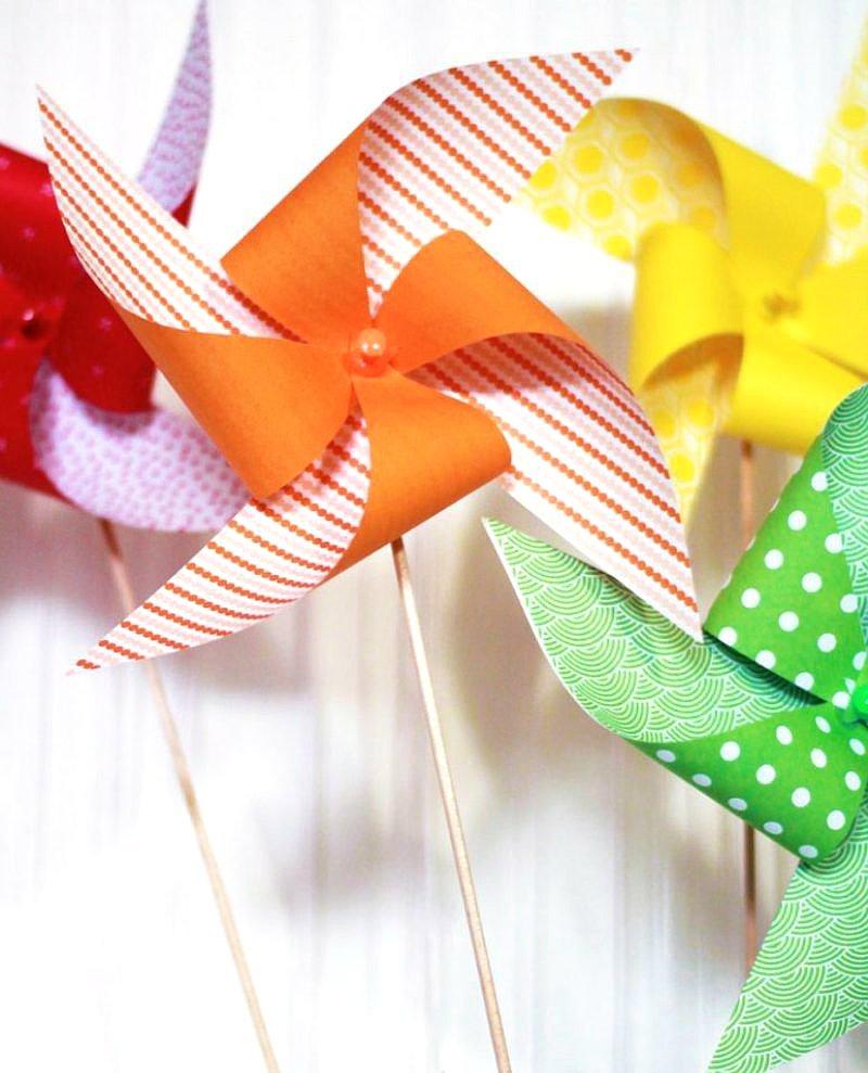 Idées Anniversaire DIY Arc-en-Ciel - des jolies décorations créatives pour une fête colorée pour anniversaire enfant, garçon ou fille! via BirdsParty.fr
