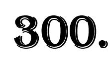 dreihundertste