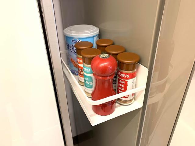 Plate磁吸式瓶罐置物架 山崎收納 Yamazaki 廚房收納 調味料 置物架 吸附在冰箱側邊
