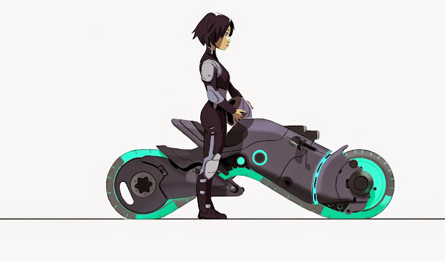 Go Go Tomago, Big Hero 6 - Illustration by Kevin Nelson