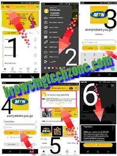 Steps to Accummulate free data on MTN