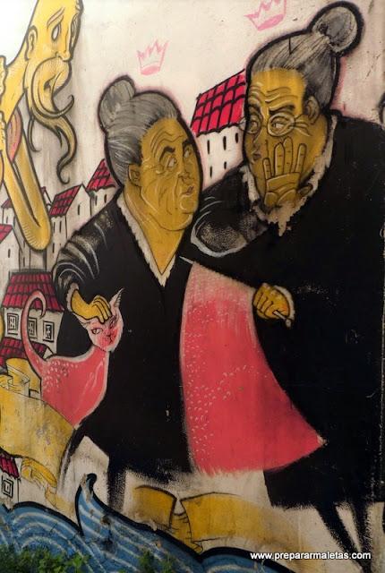 murales por las calles de Lisboa