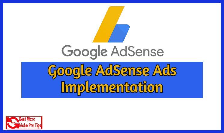 Google-AdSense-Ads-Implementation