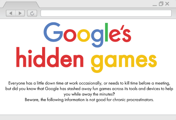 Hidden Games You Can Play On Google Search