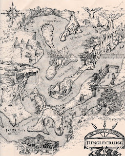 Jungle Cruise Map Disneyland