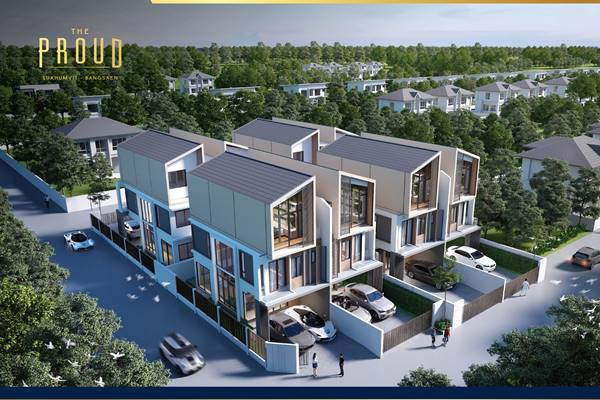 ขายบ้านใหม่ ในโครงการ The Proud Bangsaen พื้นที่เยอะพิเศษอย่างลงตัว วัสดุสุดหรู ทำเลใจกลางเมือง ใกล้บางแสน