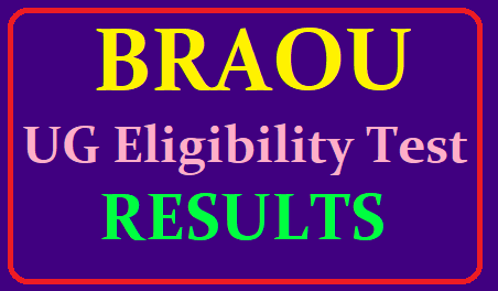BRAOU UG Eligibility Test Results 2019, Ambedkar University Degree Entrance Results 2019 /2019/06/BRAOU-UG-Eligibility-Test-Results-2019-Ambedkar-University-Degree-Entrance-Results-