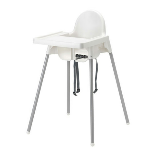 Weaning essentials,  IKEA Antilop highchair