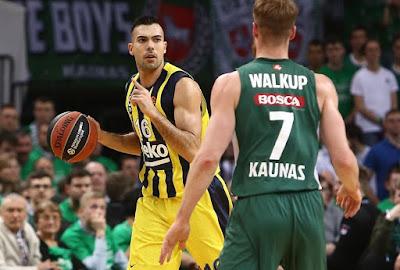 Kostas Sloukas - Fenerbahçe - Zalgiris Kaunas - Euroleague Play-Off