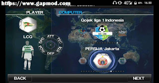 Winning Eleven Mod 2018 League 1 Gojek Indonesia v2