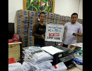 Ketakutan Wartawan METRO TV yang Liput Aksi 4 November TIDAK BERANI PAKAI SERAGAM - Commando