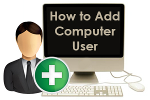 How to Add Computer User