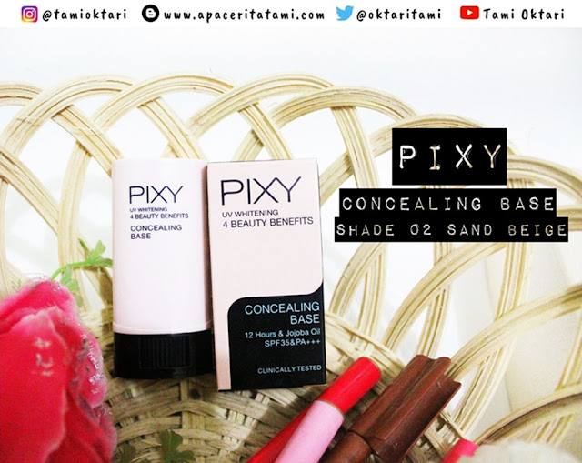 [REVIEW] Pixy Concealing Base 02 Sand Beige