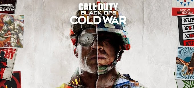 Sorteio do game Call of Duty: Black Ops Cold War