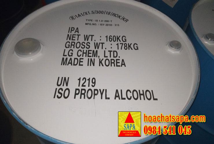 ISO PROPYL ALCOHOL (IPA) - ISO PROPANOL