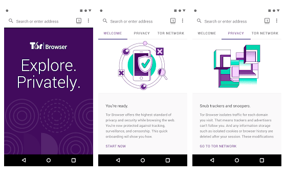 Tor Browser for Android v60.6.1 Apk [Mod]