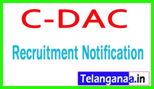 C-DAC Noida Recruitment Notification
