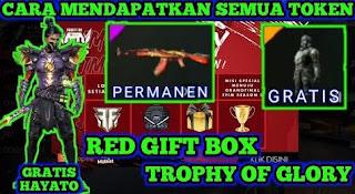 Cara Mendapatkan token Trophy of Glory FF