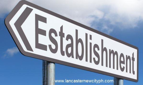 Establishment near Lancaster New City