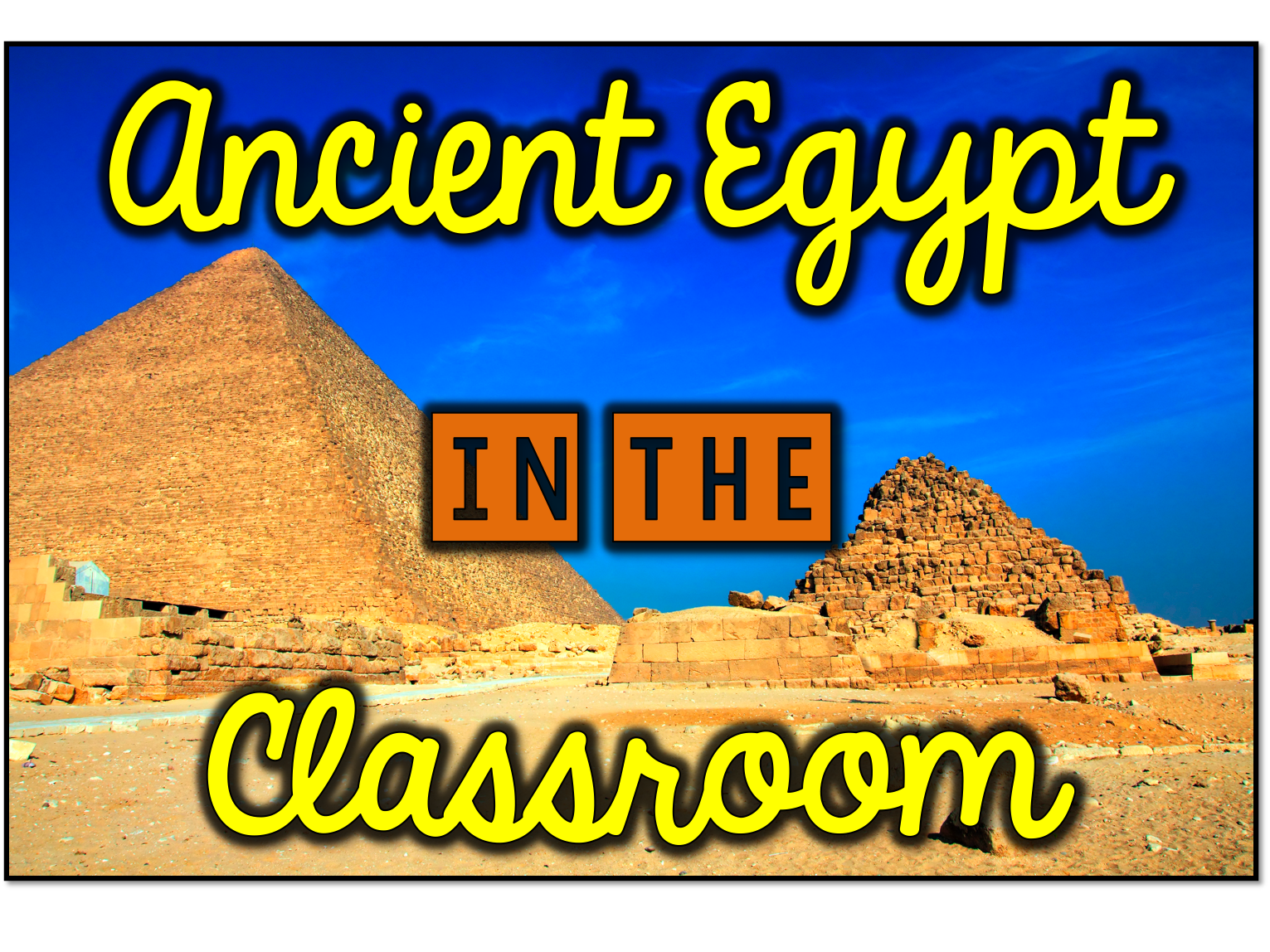 4 Activities To Teach Ancient Egypt In The Classroom