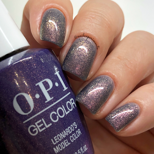 opi leonardo's model color gel color muse of milan fall 2020