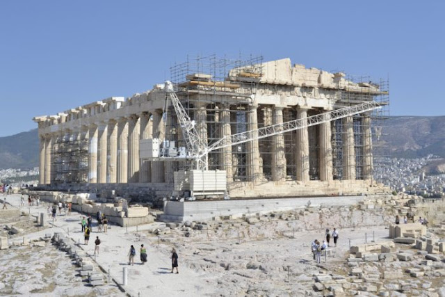 Parthenon restoration an ongoing project