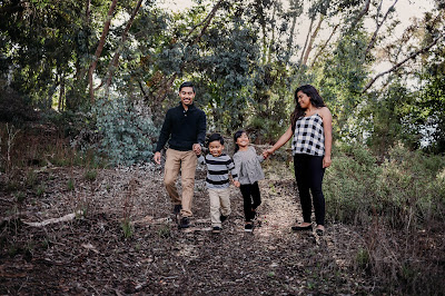 Full length family photo Family Holiday photos with Morning Owl Fine Art Photography San Diego CA.
