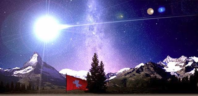 bola de fogo na Suíça