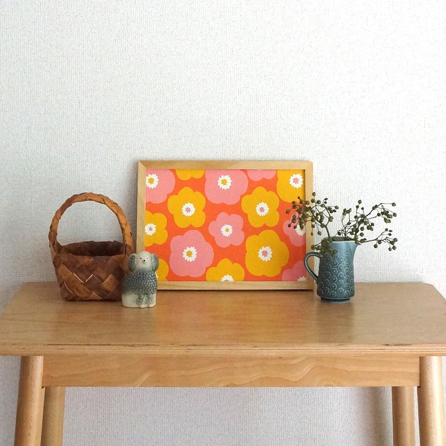 ポスターも秋冬色♩「popy A4 ポスター」6種のカラーをお店に並べました!