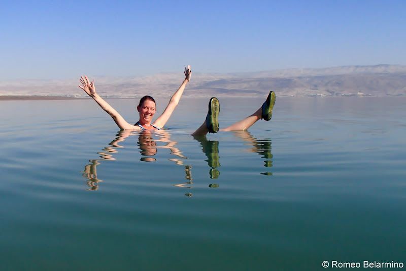 Funny Poses Floating in the Dead Sea and Tips Israel