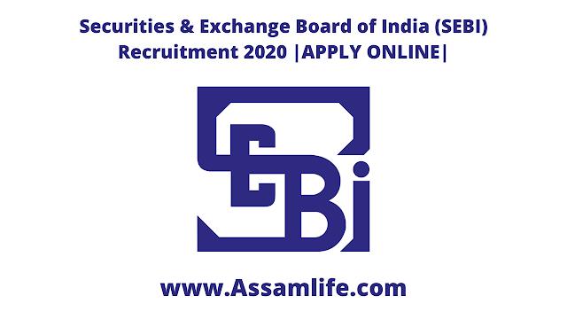 SEBI  Recruitment 2020 || Apply Online