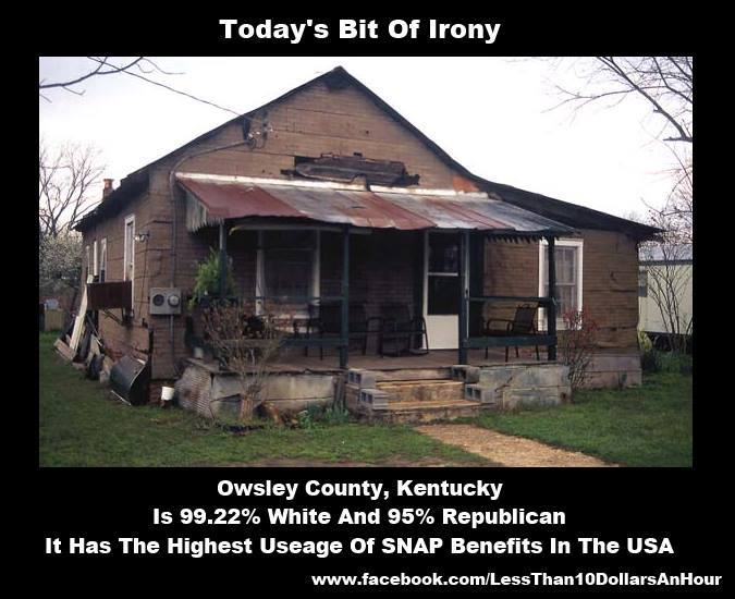 Owsley County Ky Food Stamps Welfare