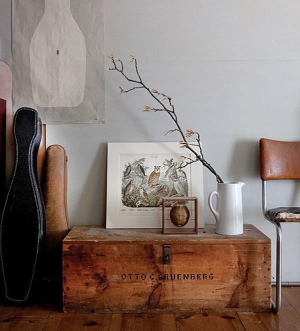 Rustik chateaux el ba l un mueble para aventureros - Decoracion con baules ...