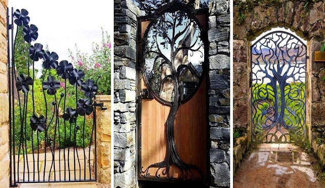 Best gates for gardens made of ferrous metals