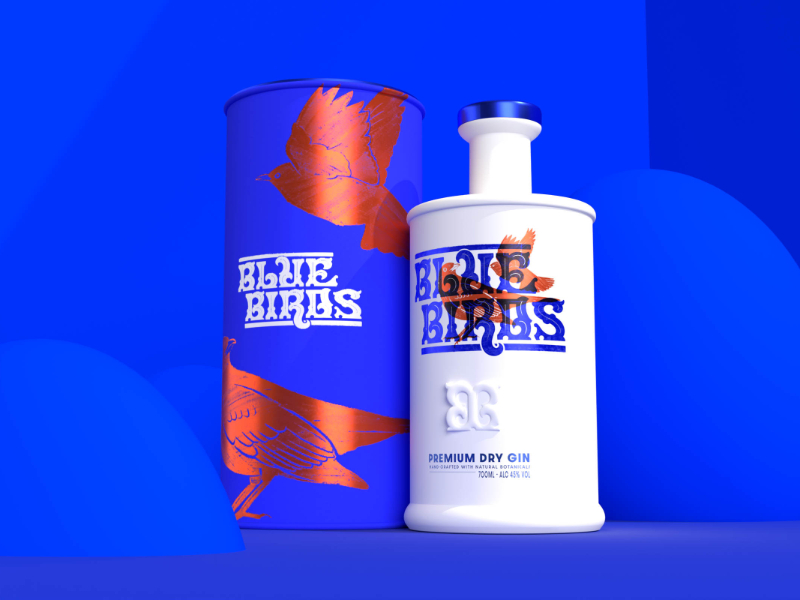 Blue Birds – Premium Dry Gin