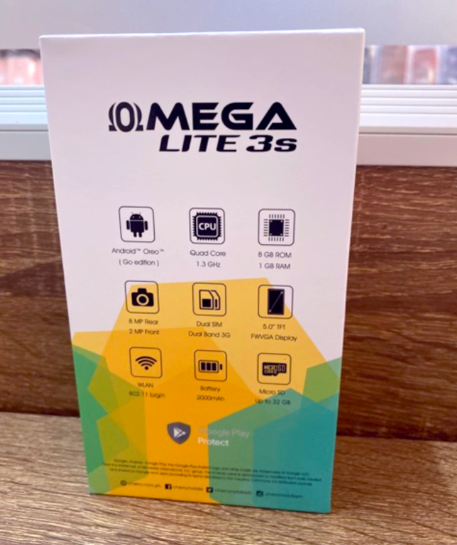 Cherry Mobile Omega Lite 3s