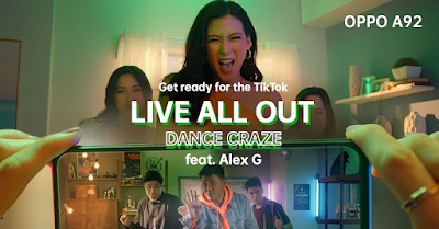 Show how you #LiveAllOut on TikTok and win an all-new OPPO A92