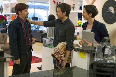 Joel Edgerton (Gordo), Jason Bateman (Simon) y Rebecca Hall (Robyn)