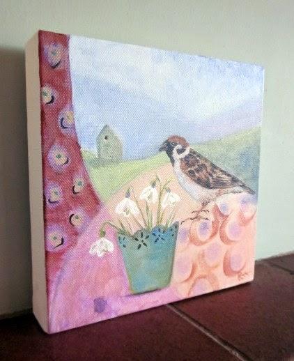 Original painting by Bee Skelton