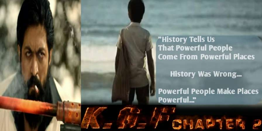 KGF Chapter2 - Dialogue, Poster,Status - Yash, Sanjay Dutt