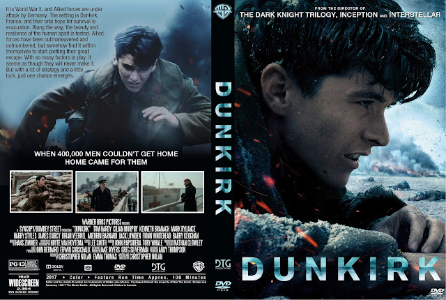 Dunkirk DVD Cover