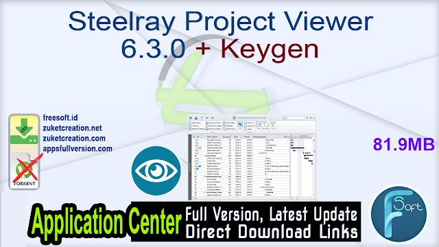 Steelray Project Viewer 6.3.0 + Keygen