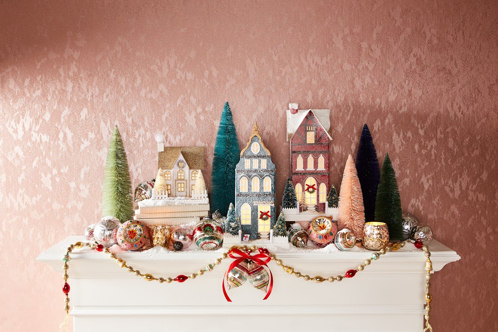 Fun ways to use ornaments in holiday decorating